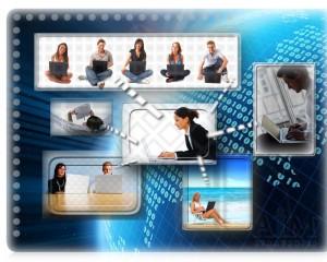 VirtualCommunication_WhiteLines