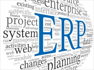 ERP in word tag cloud