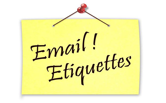 writing etiquette